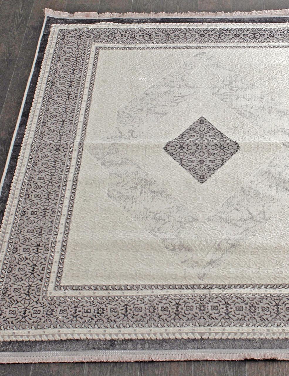 Ковер 0T245RG - GREY / GREY - Прямоугольник - коллекция ALFANI - фото 1