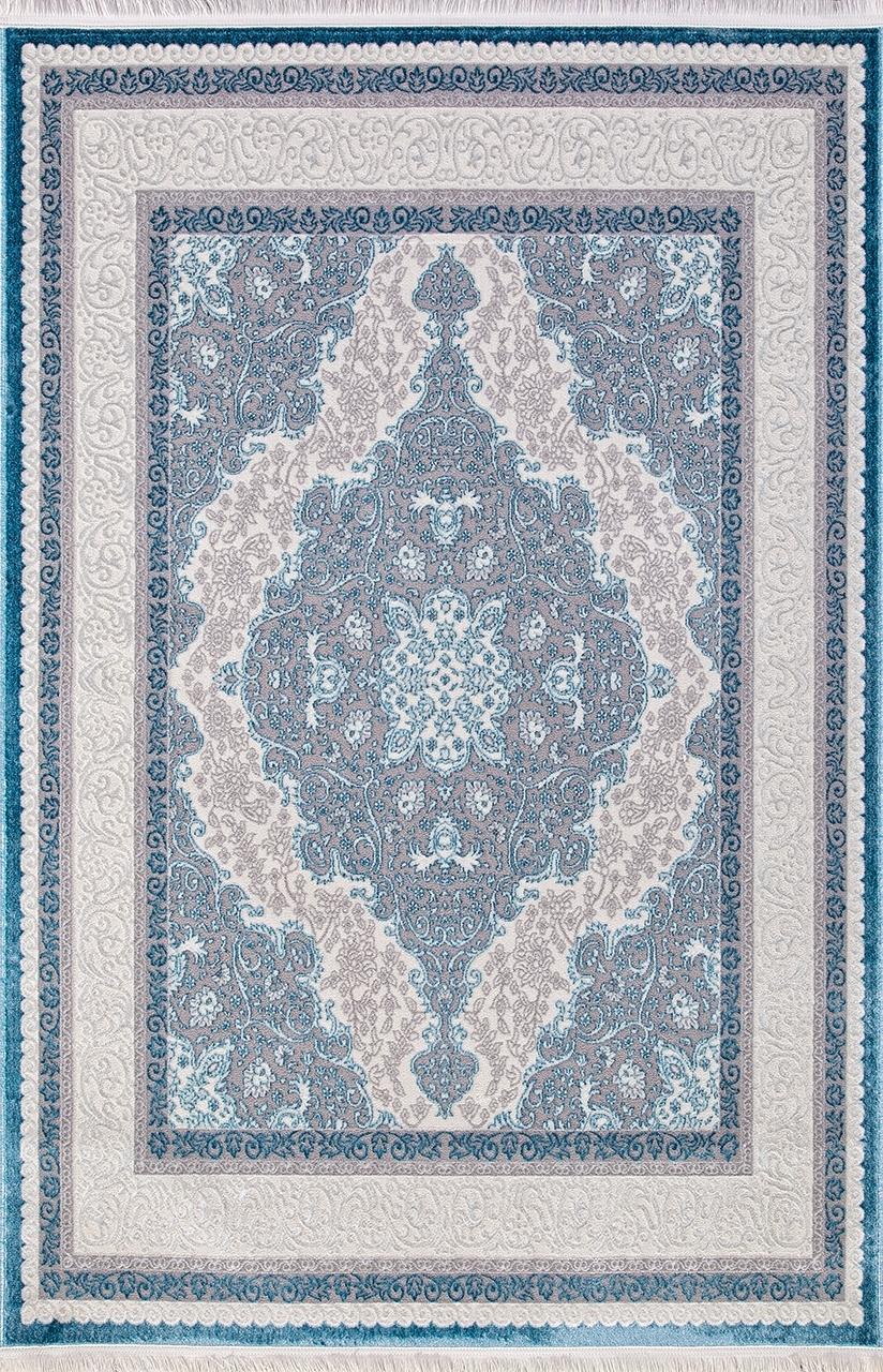 Ковер 0T249RG - BLUE / BLUE - Прямоугольник - коллекция ALFANI - фото 2