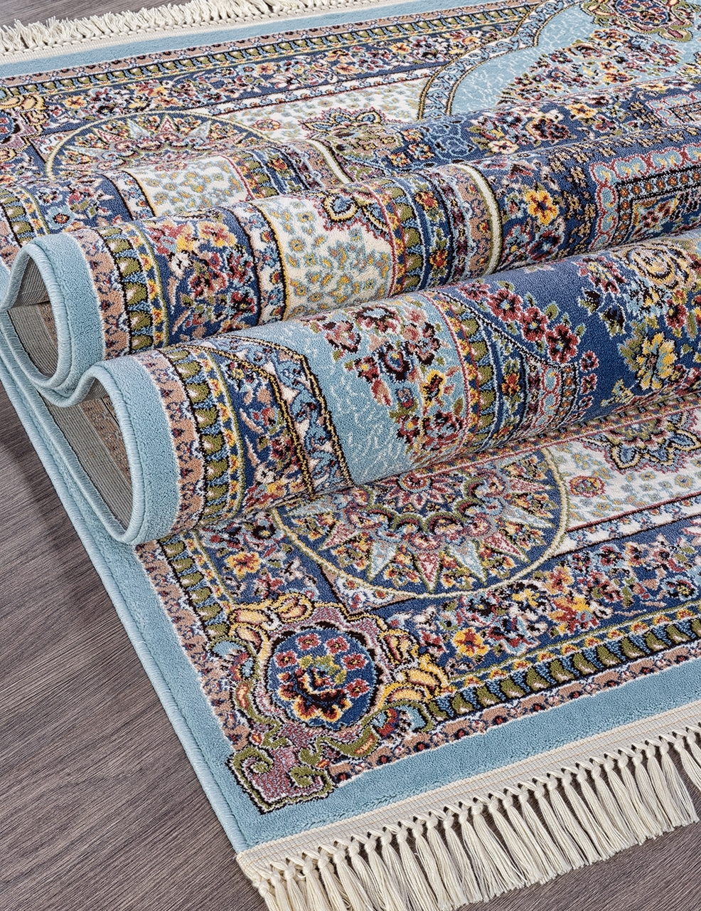 Ковер 6805 - BLUE-NAVY - Прямоугольник - коллекция ARAVIA - фото 4