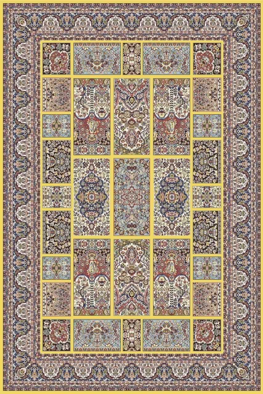 Ковер 6816 - YELLOW - Прямоугольник - коллекция ARAVIA