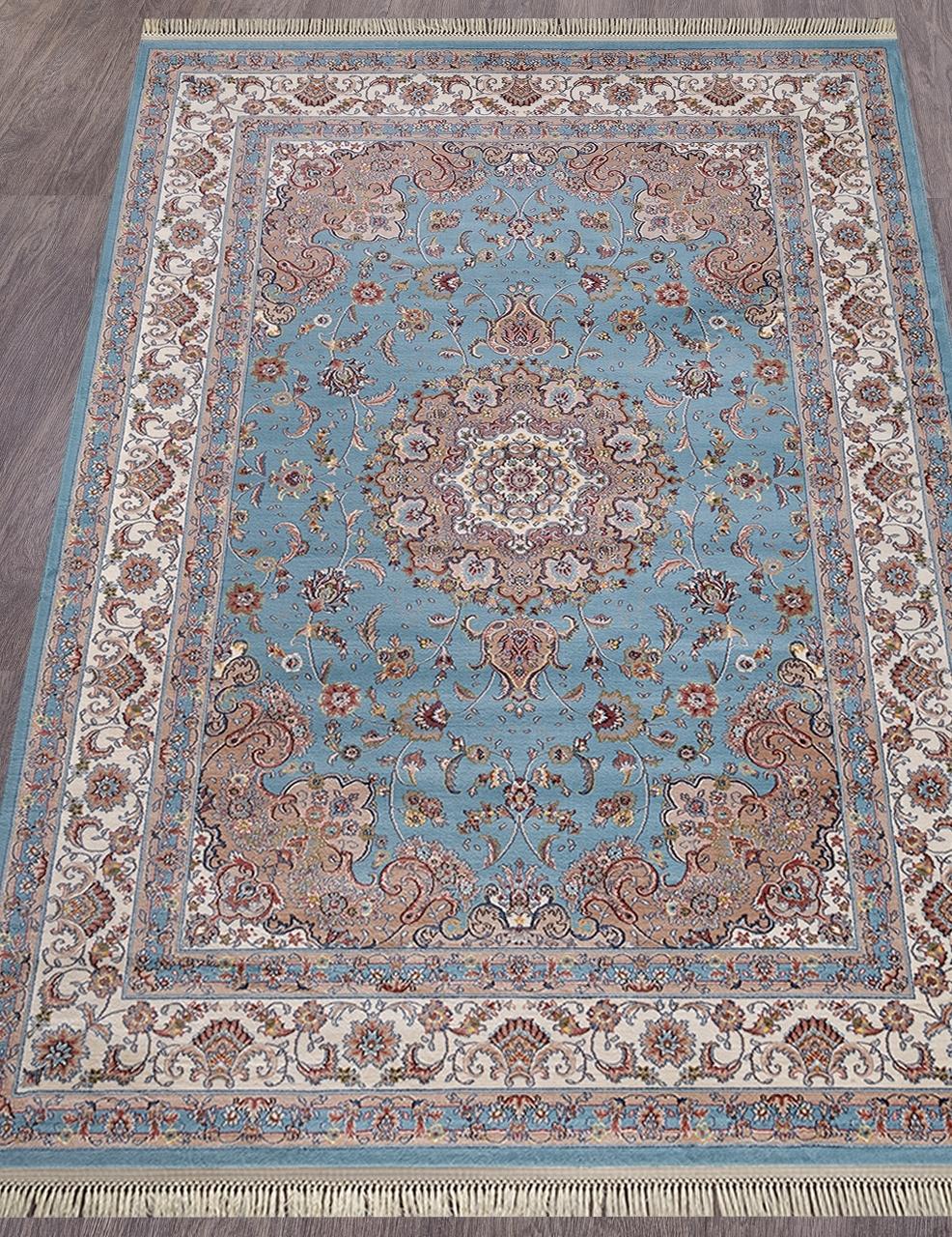 Ковер D158 - BLUE - Прямоугольник - коллекция ARAVIA - фото 1