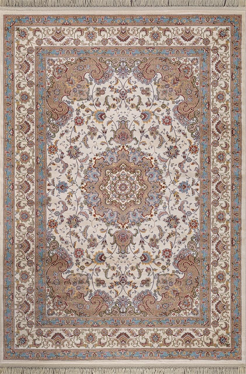 Ковер D158 - CREAM-BLUE - Прямоугольник - коллекция ARAVIA - фото 2