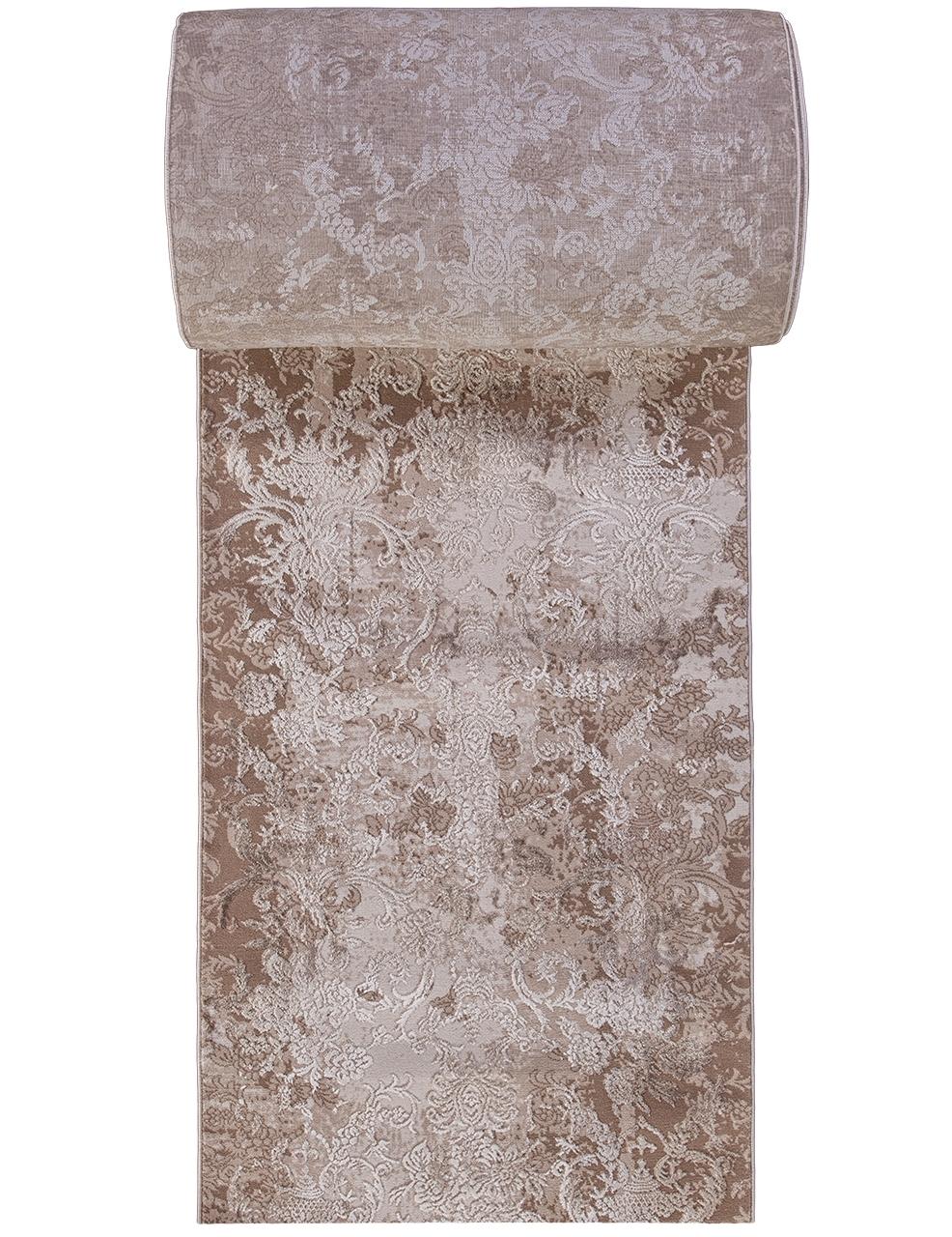 Ковровая дорожка 03708A - BROWN / BROWN - коллекция ARMINA - фото 2