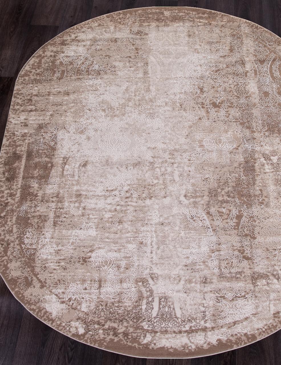 Ковер 03711A - BROWN / BROWN - Овал - коллекция ARMINA - фото 1
