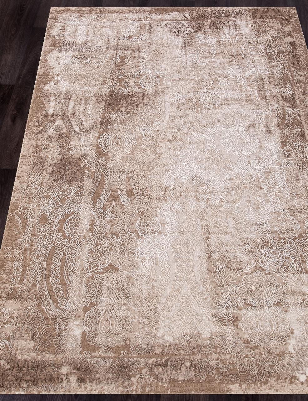 Ковер 03711A - BROWN / BROWN - Прямоугольник - коллекция ARMINA