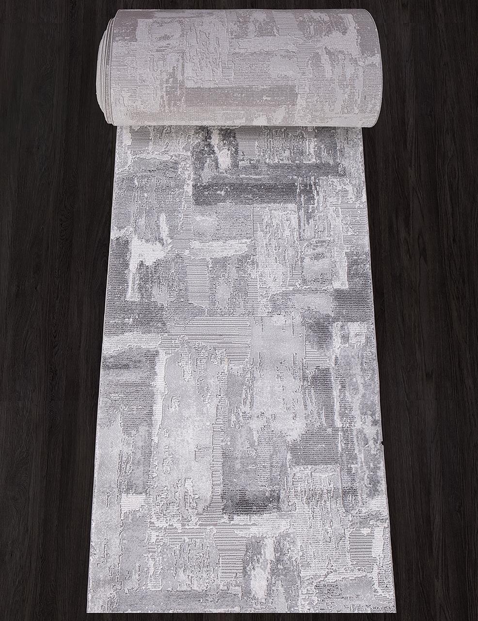 Ковровая дорожка 03758A - GREY / GREY - коллекция ARMINA - фото 1