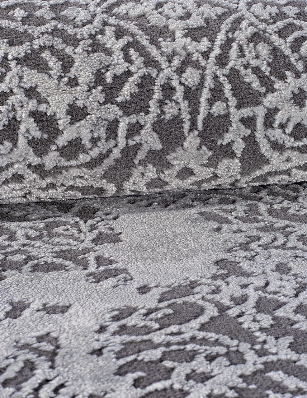 Ковер 03792A - GREY / GREY - Овал - коллекция ARMINA - фото 4