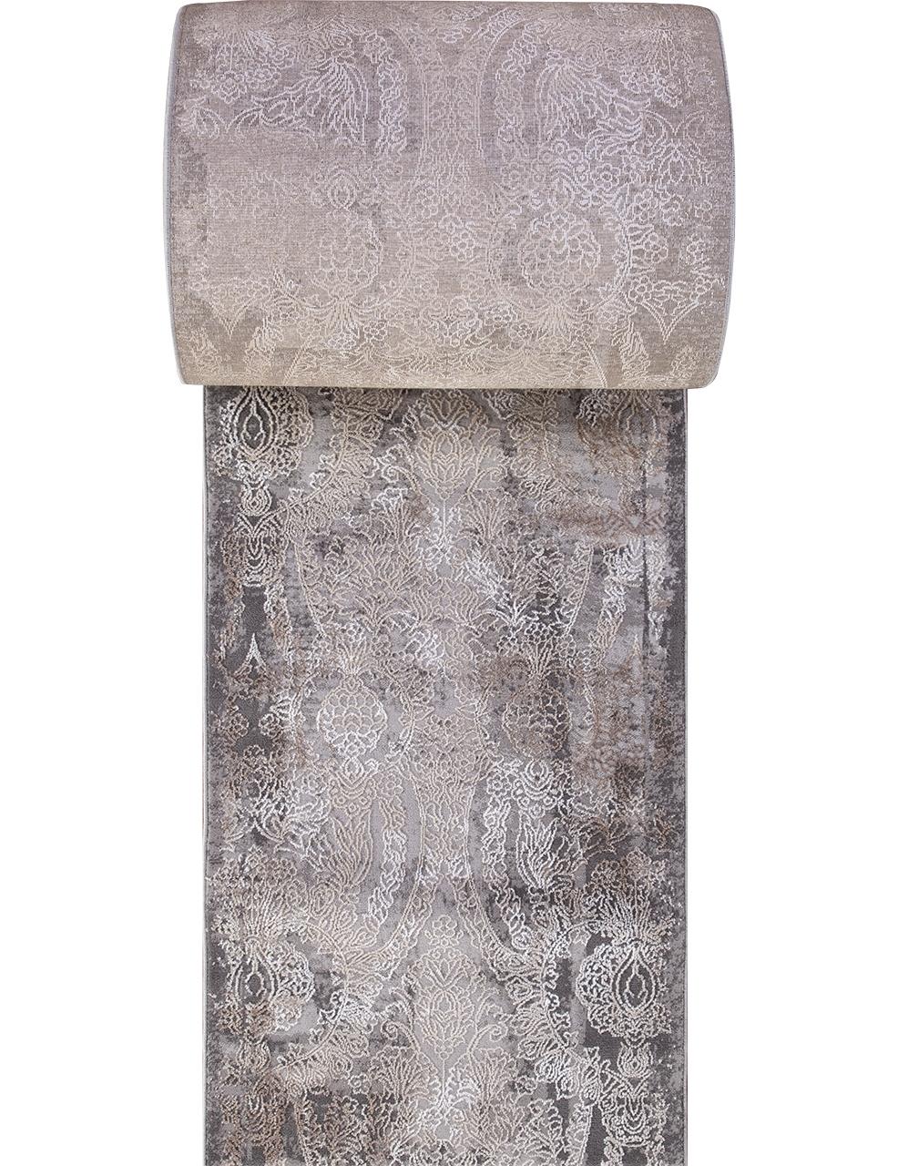 Ковровая дорожка 03801A - GREY / BROWN - коллекция ARMINA - фото 2