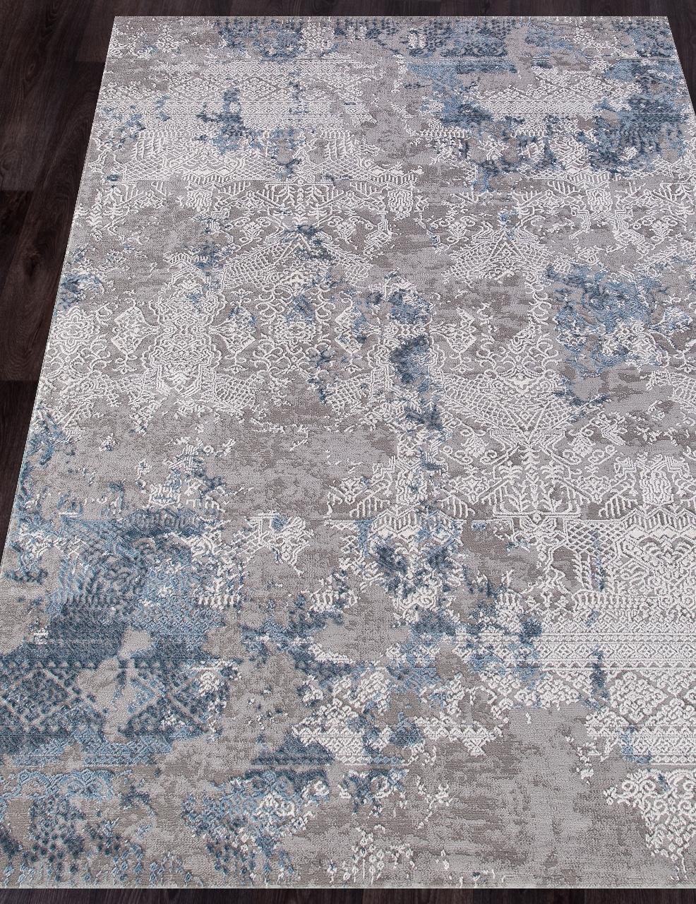 Ковер 03851A - BLUE / BLUE - Прямоугольник - коллекция ARMINA
