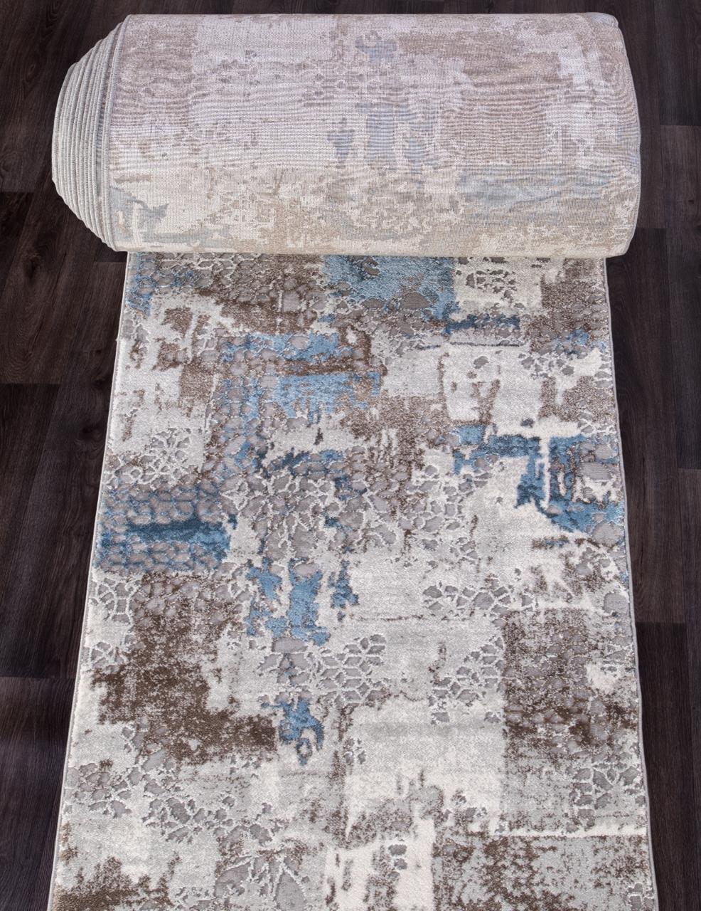 Ковровая дорожка 03857A - BLUE / BLUE - коллекция ARMINA