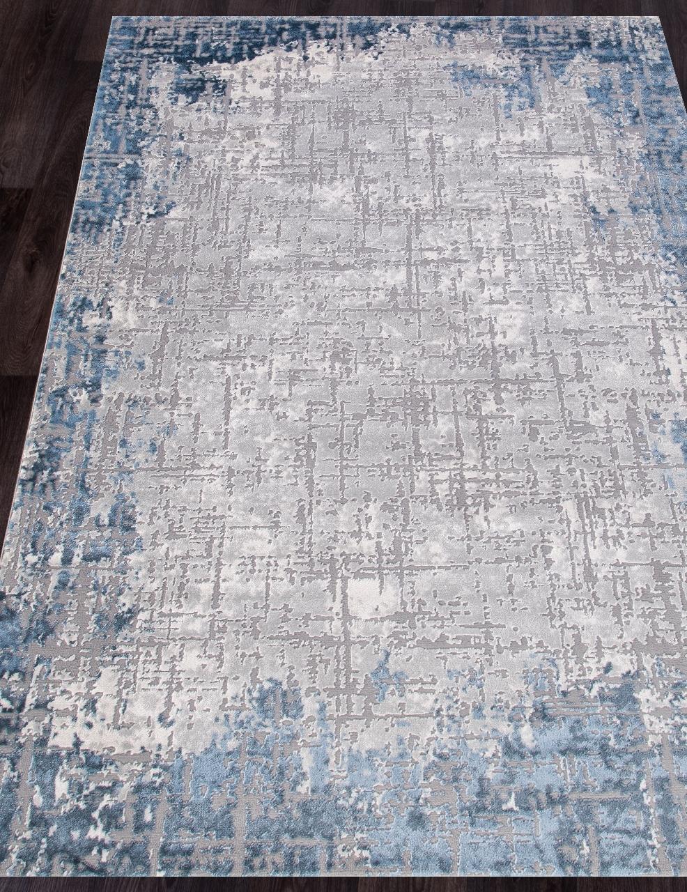 Ковер 03858A - BLUE / BLUE - Прямоугольник - коллекция ARMINA - фото 1
