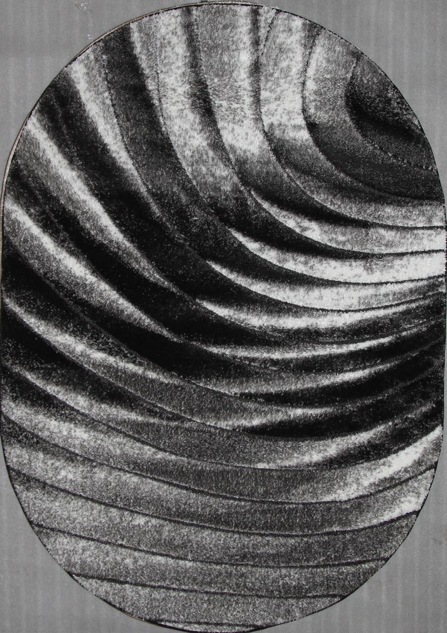 Ковер 5056 - GREY - Овал - коллекция BELLA