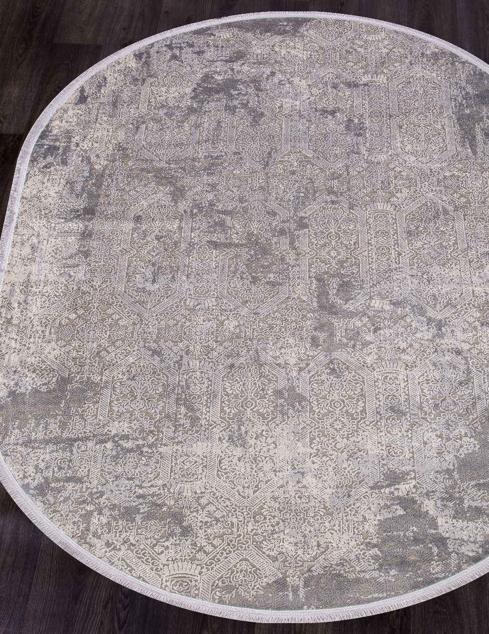 Ковер 9300 - GREY / GREY - Овал - коллекция BIBLOS - фото 1