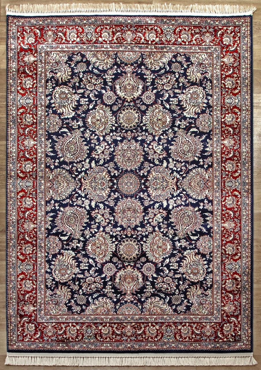 Ковер 08613T - BLUE / BLUE - Прямоугольник - коллекция BROOKLYN