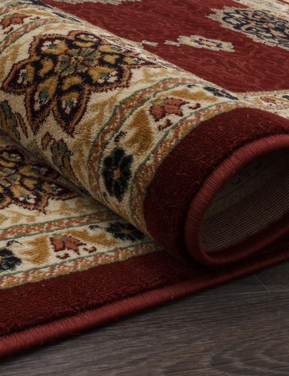 Ковер 1902 - RED 9 - Прямоугольник - коллекция BUHARA - фото 2
