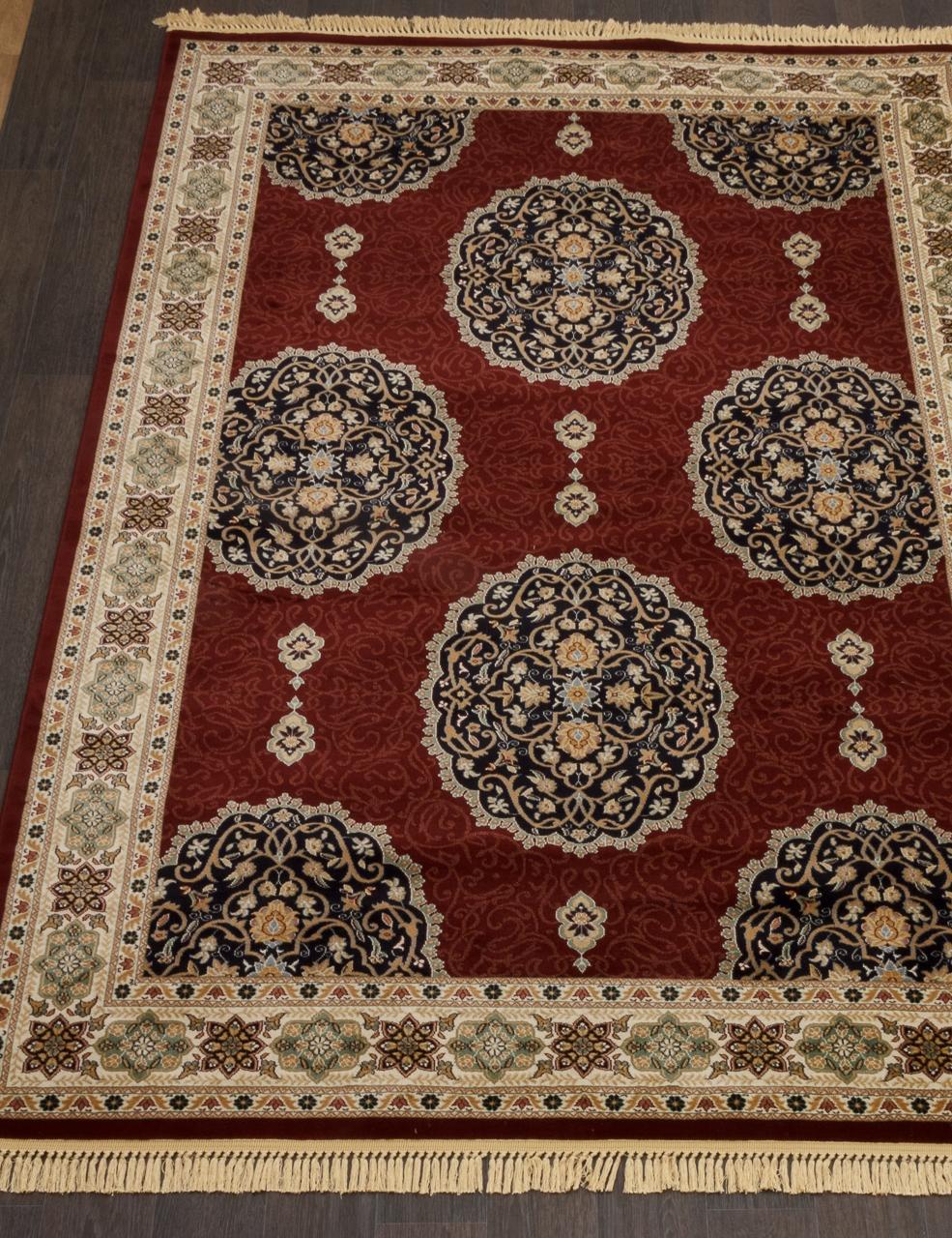Ковер 1902 - RED 9 - Прямоугольник - коллекция BUHARA - фото 1