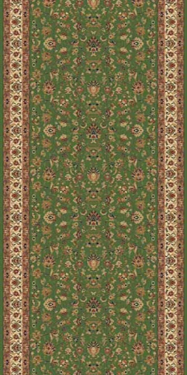 Ковровая дорожка 5471 - GREEN - коллекция BUHARA
