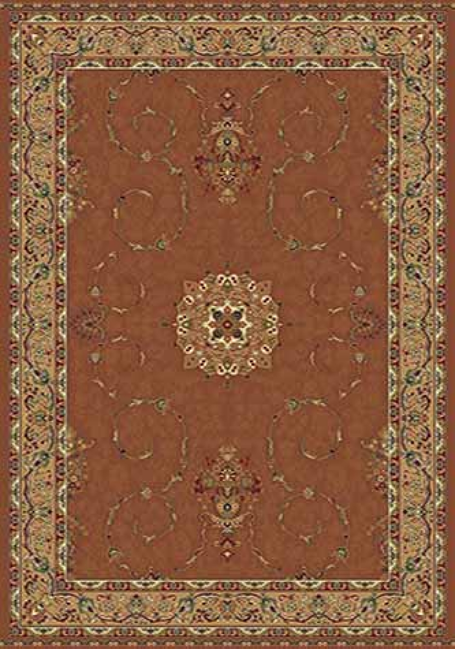 Ковер d034 - PINK - Прямоугольник - коллекция BUHARA