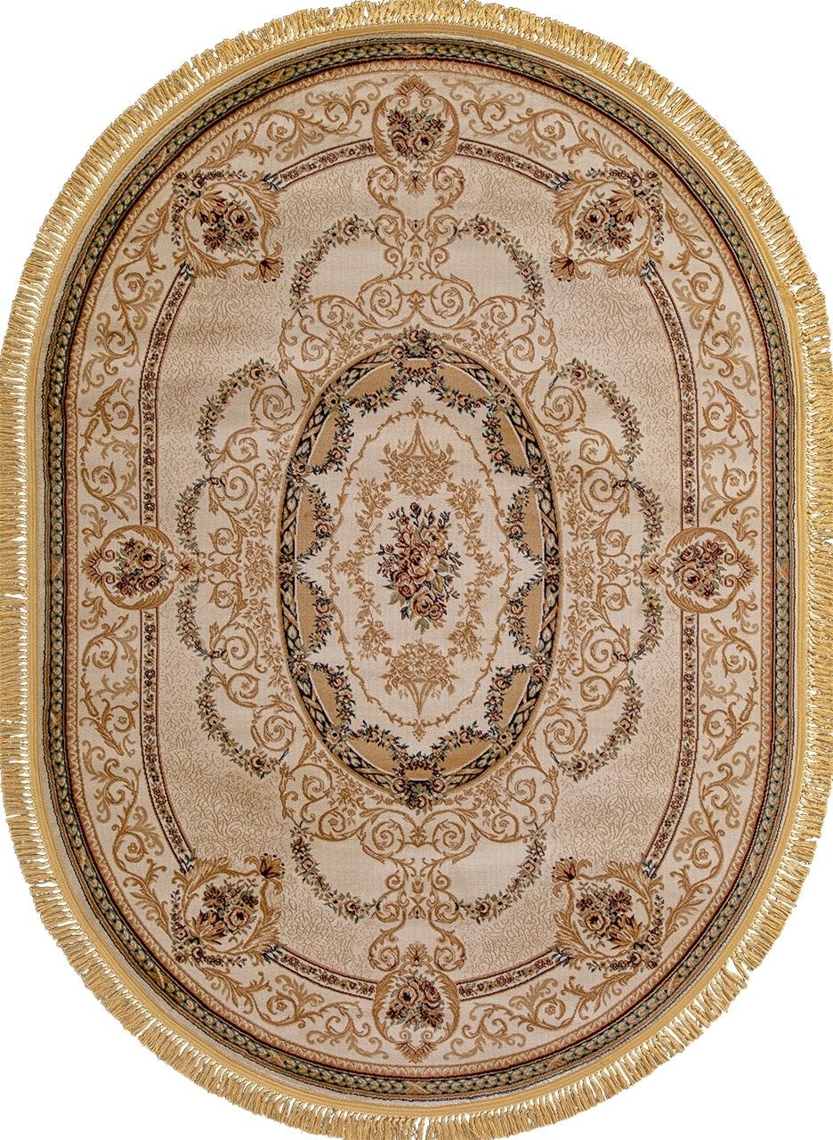 Ковер d058 - CREAM - Овал - коллекция BUHARA - фото 2