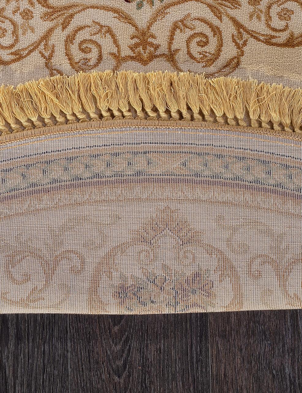 Ковер d058 - CREAM - Овал - коллекция BUHARA - фото 4