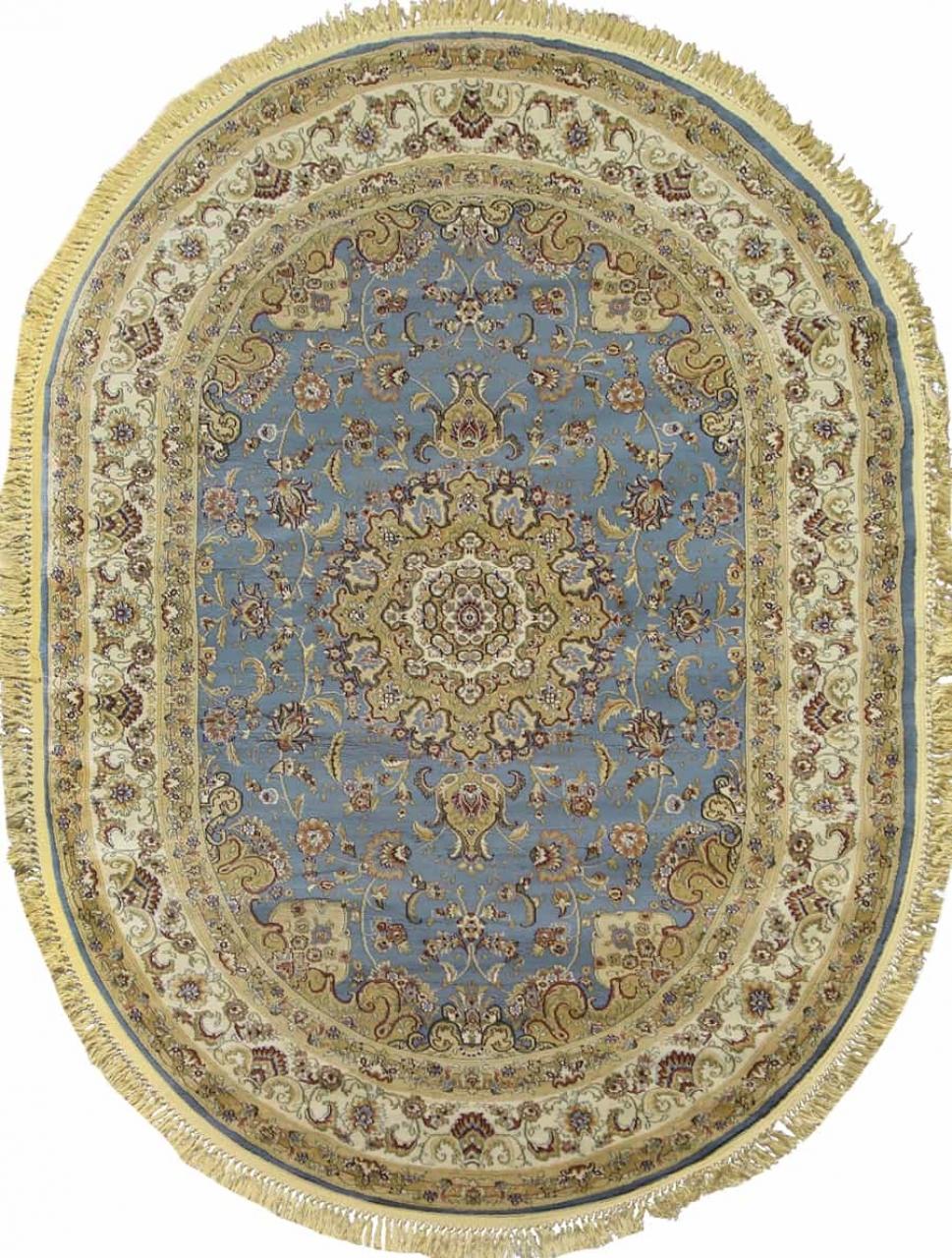 Ковер d158 - BLUE - Овал - коллекция BUHARA - фото 2