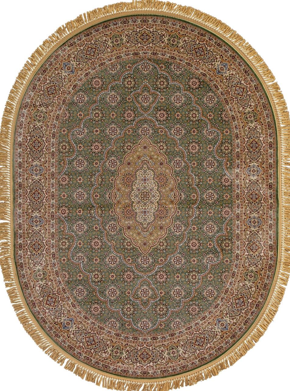 Ковер D159 - GREEN - Овал - коллекция BUHARA - фото 2