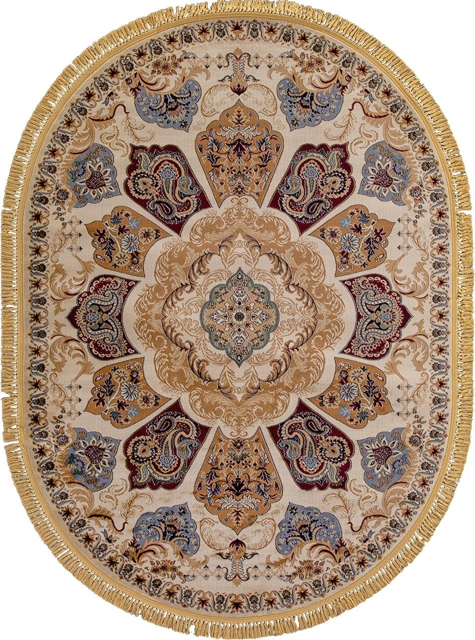 Ковер D428 - CREAM - Овал - коллекция BUHARA - фото 2