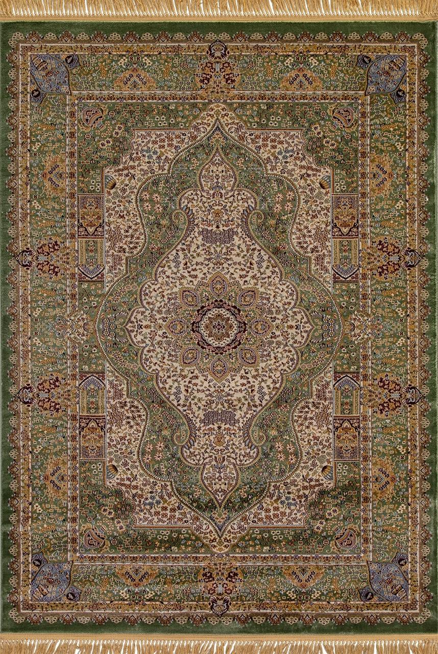 Ковер D432 - GREEN - Прямоугольник - коллекция BUHARA - фото 2