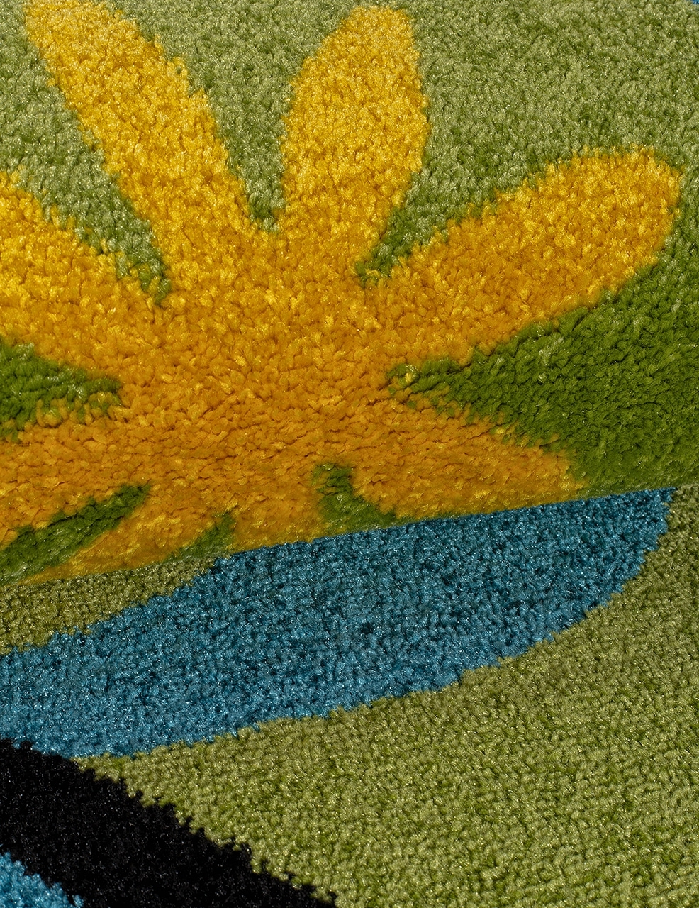 Ковер 0772 - GREEN - Прямоугольник - коллекция CRYSTAL - фото 4