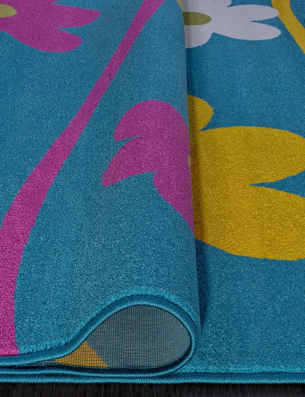 Ковер 1021 - BLUE - Прямоугольник - коллекция CRYSTAL - фото 3