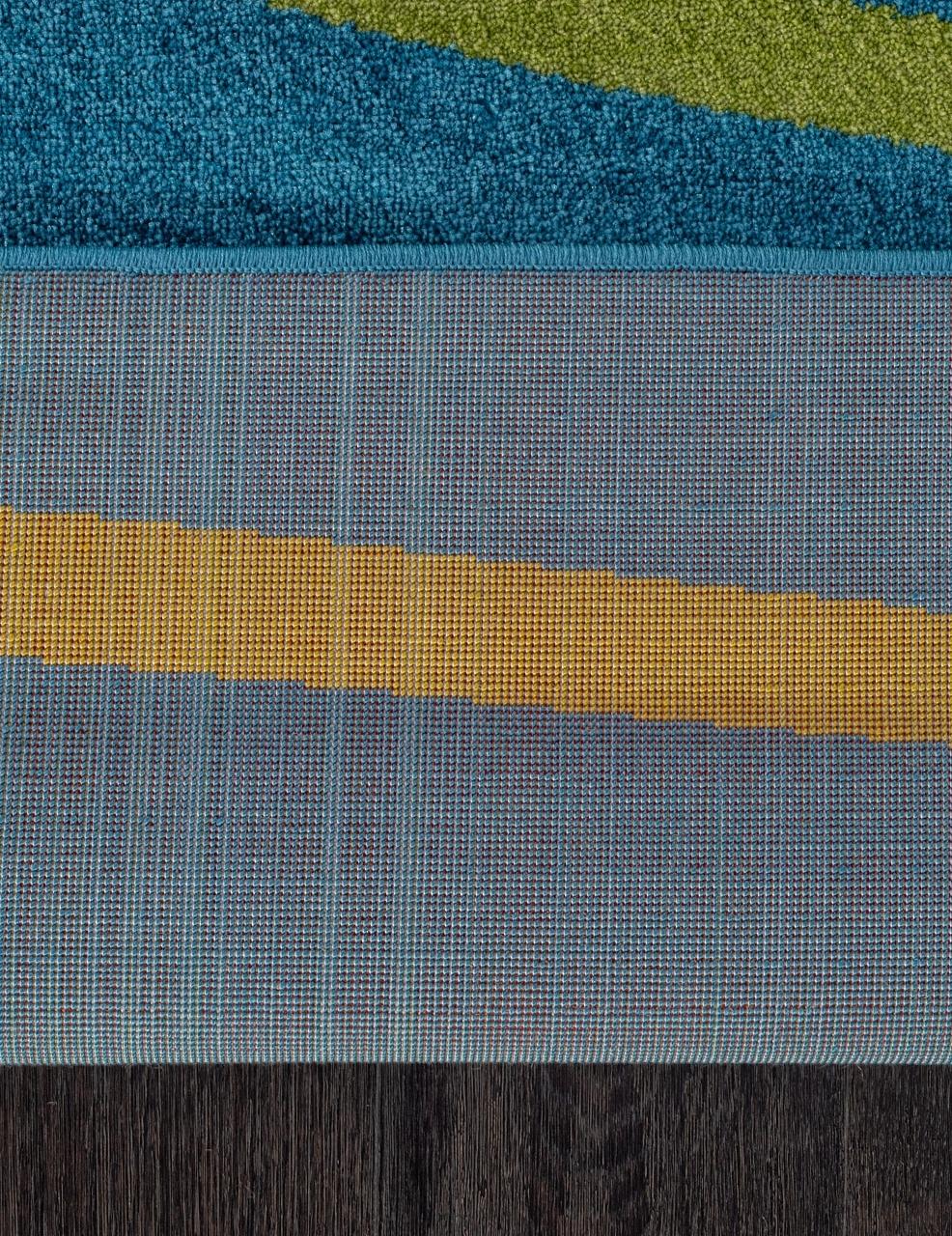 Ковер 1021 - BLUE - Прямоугольник - коллекция CRYSTAL - фото 5