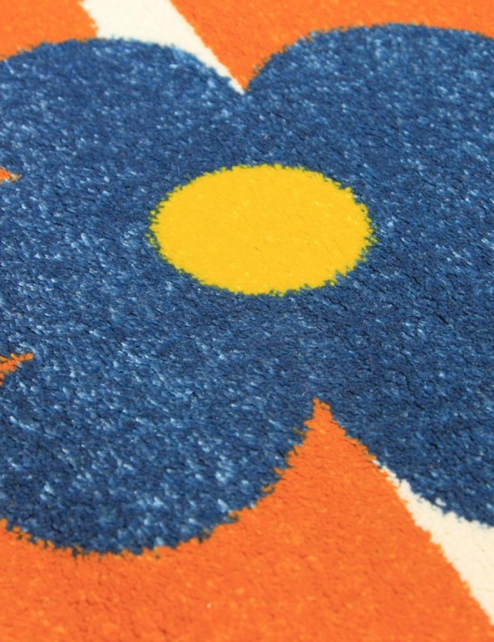 Ковер 1021 - ORANGE - Прямоугольник - коллекция CRYSTAL - фото 5