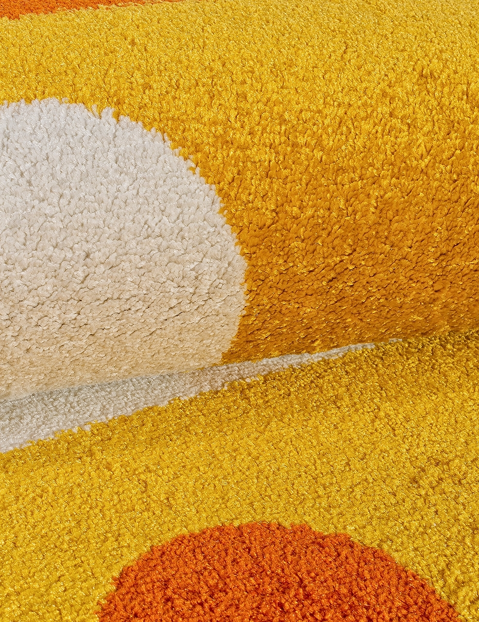 Ковер 1021 - YELLOW - Прямоугольник - коллекция CRYSTAL - фото 4