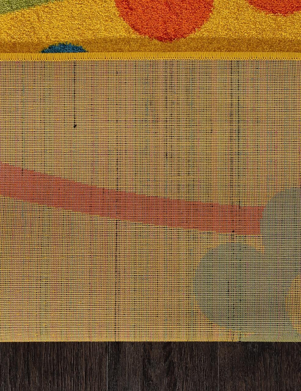 Ковер 1021 - YELLOW - Прямоугольник - коллекция CRYSTAL - фото 5