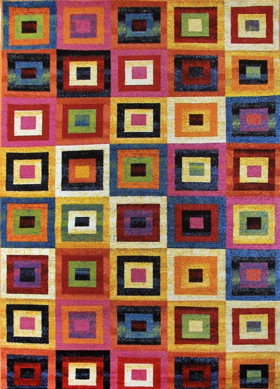 Ковер 2786 - MULTICOLOR - Прямоугольник - коллекция CRYSTAL - фото 1