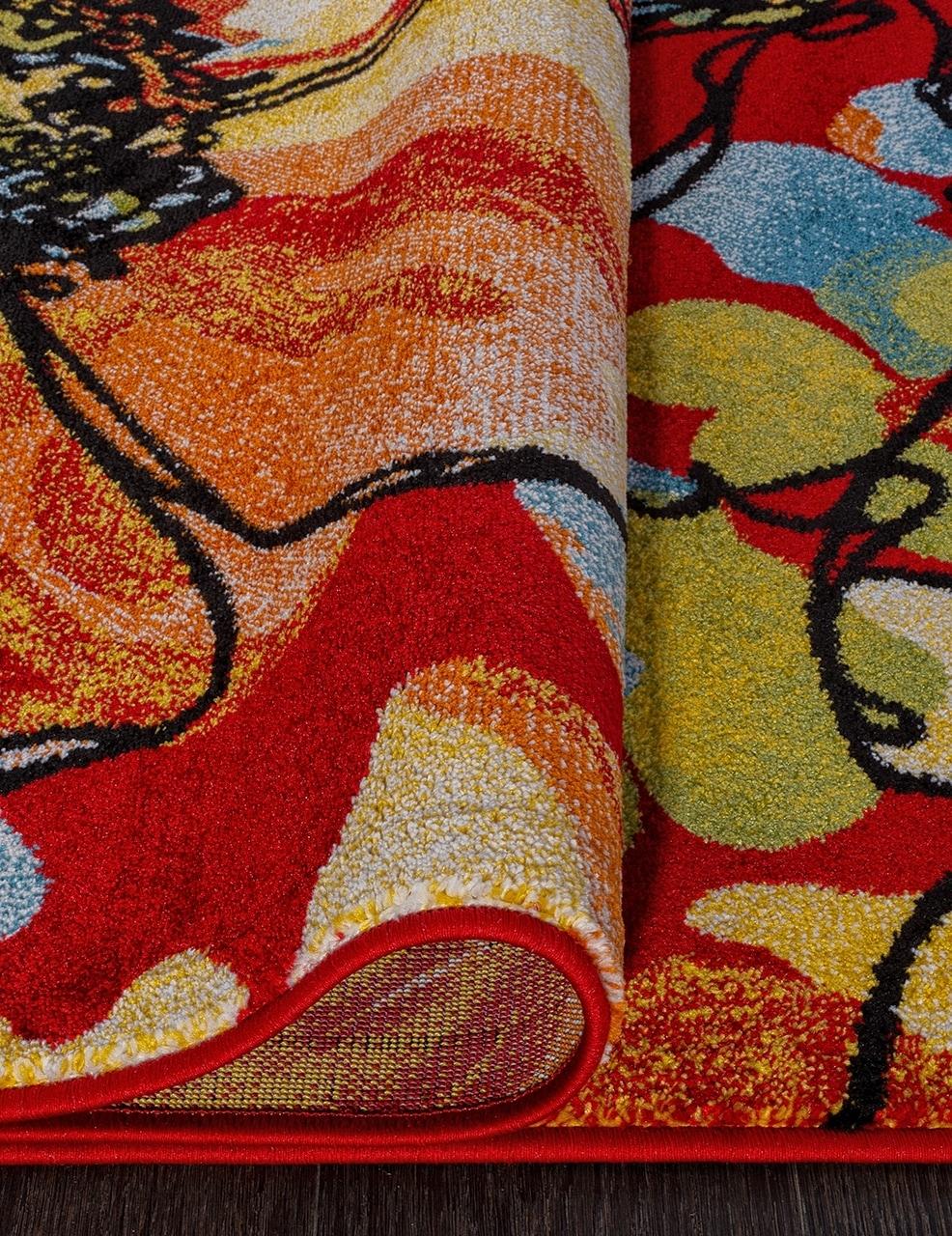 Ковер C045 - RED - Прямоугольник - коллекция CRYSTAL - фото 3