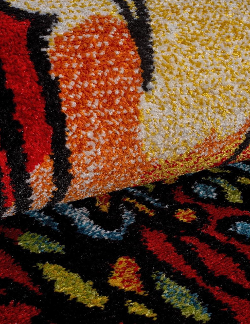 Ковер C045 - RED - Прямоугольник - коллекция CRYSTAL - фото 4