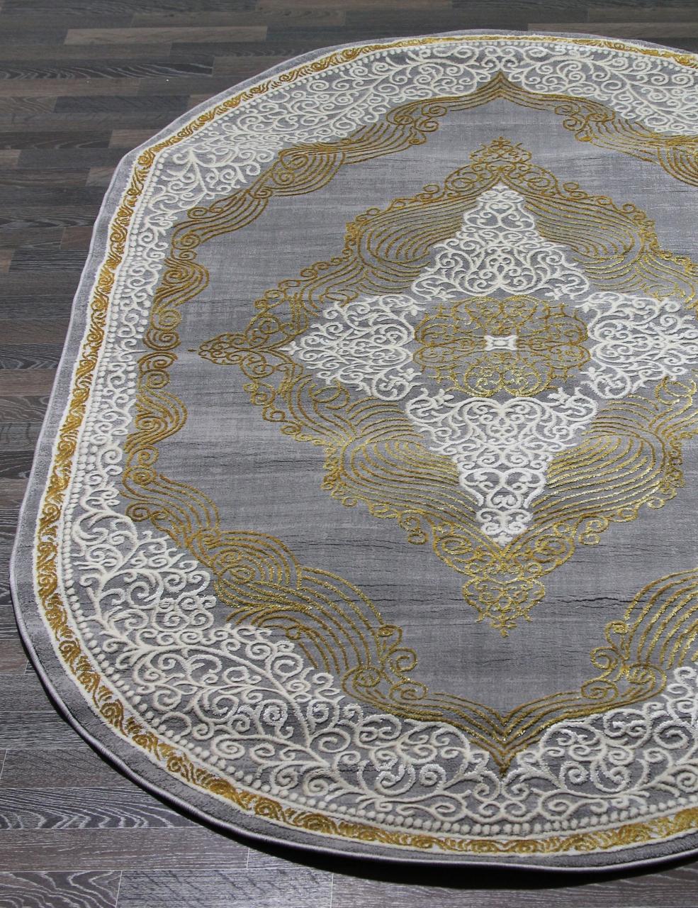 Ковер 23045 - 957 - Овал - коллекция ELITE