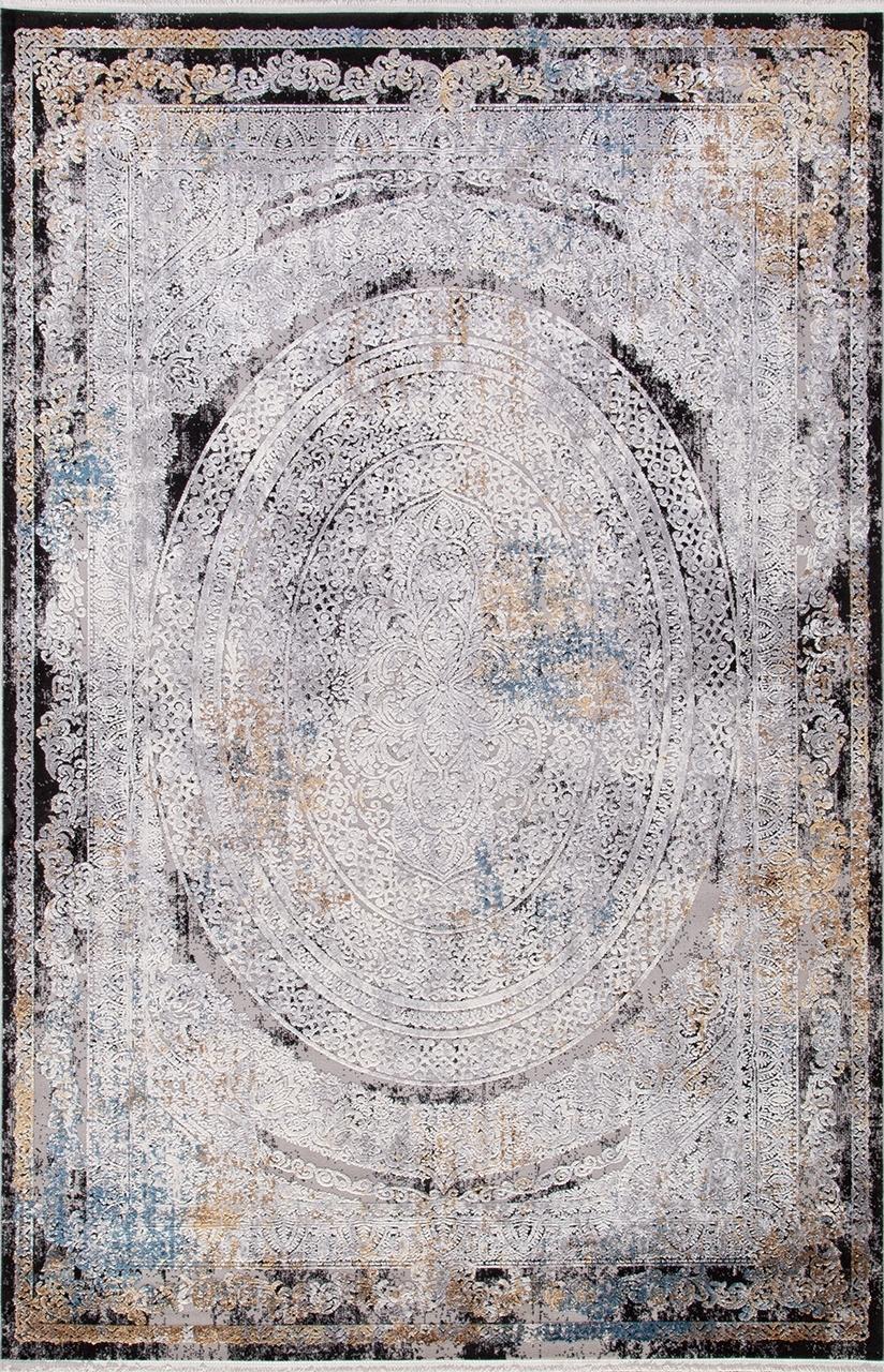 Ковер 18112 - GRAY / BLACK - Прямоугольник - коллекция ERVA - фото 2