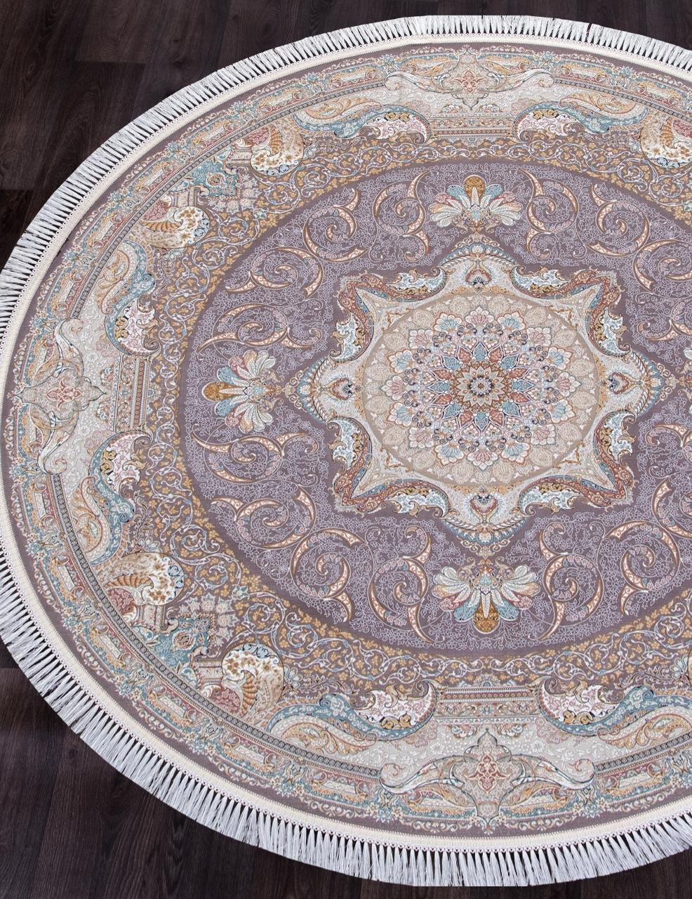 Ковер 144 - MELANGE PINK - Круг - коллекция FARSI 1500 - фото 1