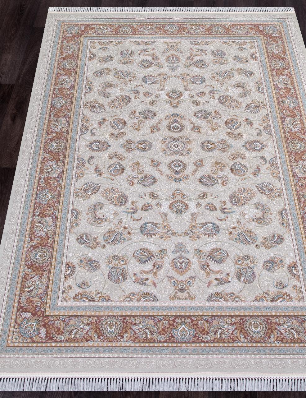 Ковер G136 - CREAM - Прямоугольник - коллекция FARSI 1500 - фото 1