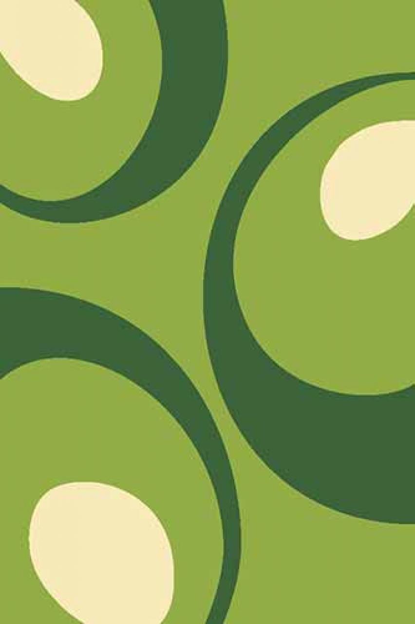 Ковер VR17 - GREEN - Прямоугольник - коллекция FLOWER