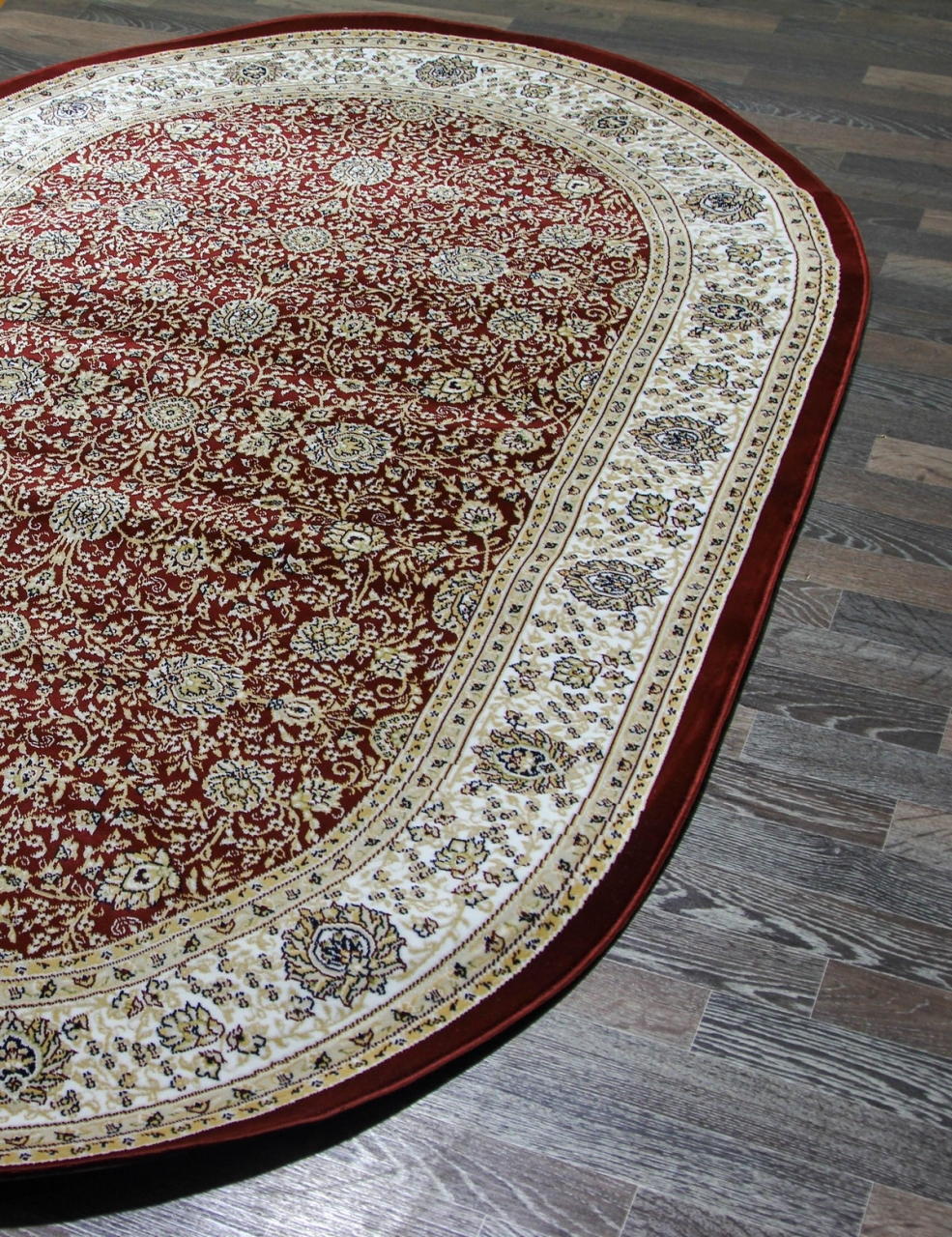 Ковер 12470 - 010 - Овал - коллекция HORASAN - фото 3