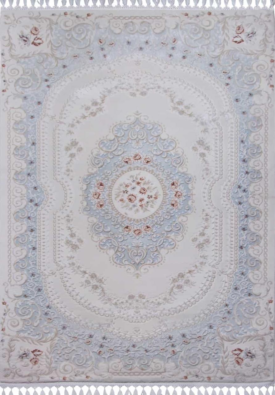 Ковер 07926T - BLUE / BLUE - Прямоугольник - коллекция HUNKAR - фото 2