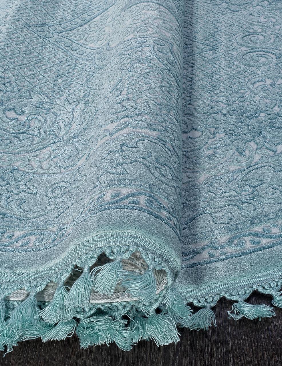 Ковер 07931 - BLUE / BLUE - Овал - коллекция HUNKAR - фото 3