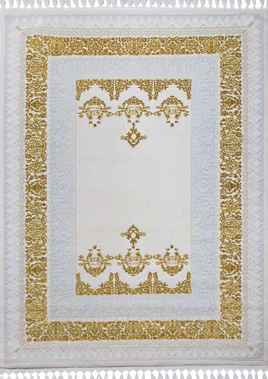 Ковер 08074A - BLUE / GOLD - Прямоугольник - коллекция HUNKAR - фото 2