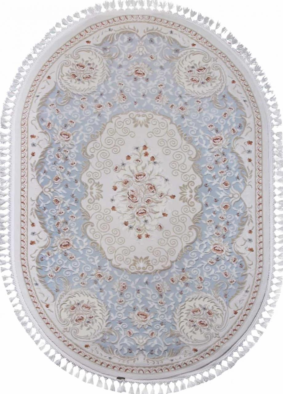 Ковер 7922 - BLUE / BLUE - Овал - коллекция HUNKAR - фото 2