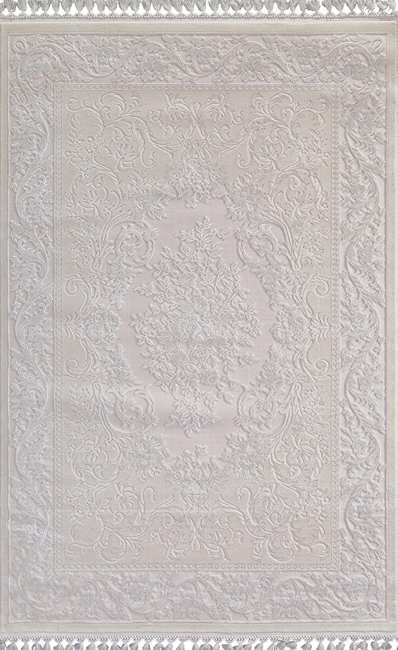 Ковер 8006 - WHITE / WHITE - Прямоугольник - коллекция HUNKAR - фото 2