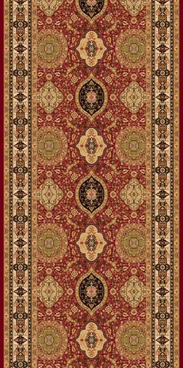 Ковровая дорожка d101 - RED - коллекция IZMIR - фото 1