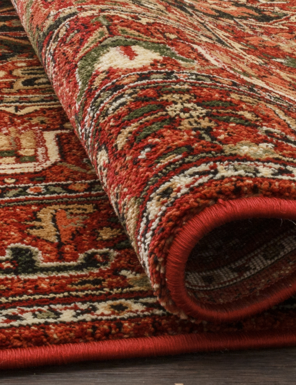 Ковер d195 - RED - Прямоугольник - коллекция IZMIR - фото 3